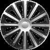 Τάσια 16″ Trend Silver & Black CBX (4 τμχ.)